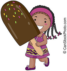Girl with Ice Candy