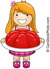Girl with Jelly