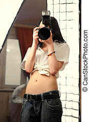 Girl with the camera