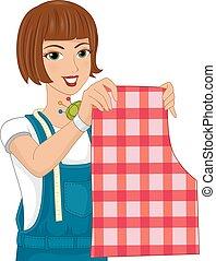 Girl Wrist Pin Pattern