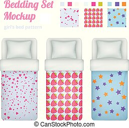 Girlish Bed Cloths Collection