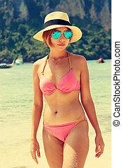 Girls bikini vintage