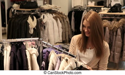 Girls enjoying shopping