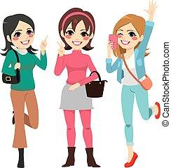Girls Friends Fun