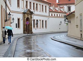 Girls in Prague