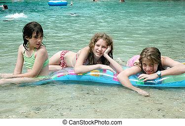 Girls on Float