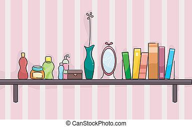 Girl's Room Shelf