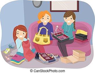 Girls Stickman Crafts