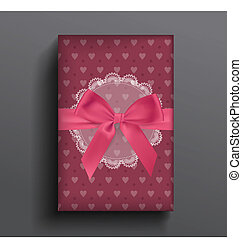 Girly box and bow