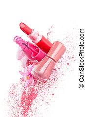 Girly make up and fashion. - Girly make up, cosmetic and ...