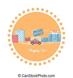 giro, shopping