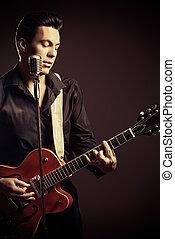 gitár, énekes