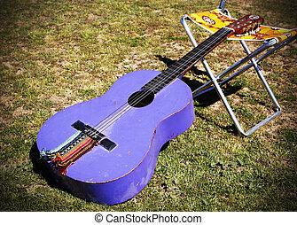 gitár, hippi, spanyol