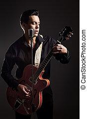 gitár játékos