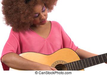 gitár, kisbaba