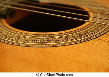 gitár, vonósok