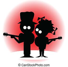 gitaar, duo
