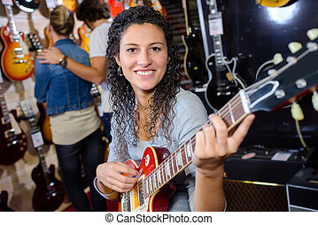 gitaar, elektronisch