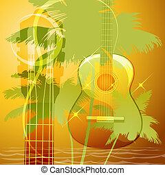 gitaar, muziek