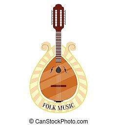 gitaar, portugees, muziek, folk-music, etiket