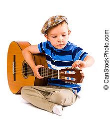 gitaar, stemmen