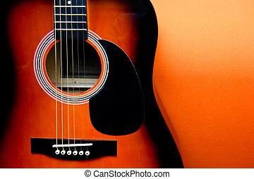 gitara, akustyczny