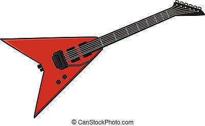 gitara, elektryczny