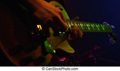 gitarre, gestein, rolle, n
