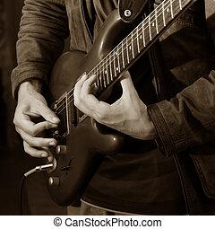 gitarre, solo