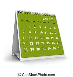 giugno, 2015, calendario