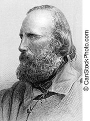 Giuseppe Garibaldi (1807-1882) on engraving from 1800s. Italian military and political figure. He is considered a national hero in Italy. Published in London by Virtue & Co.