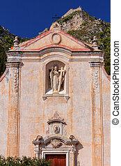 giuseppe., st. 。, taormina., 教会