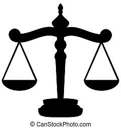 giustizia, scale