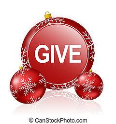give christmas icon