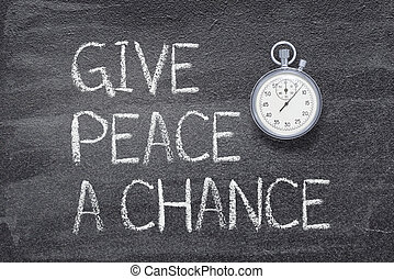 give peace a chance watch