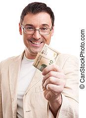 give penge, pæn, branche mand