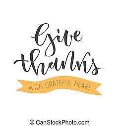 Give thanks greeting