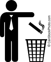 Give up smoking icon