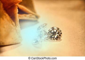Giving diamonds