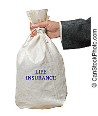 Giving life insurance