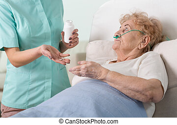 Giving the pills