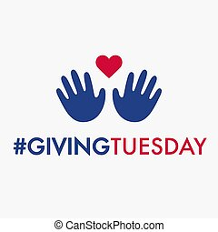 Giving Tuesday banner design - Giving Tuesday, global day of...