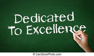giz, dedicado, excelência, ilustração