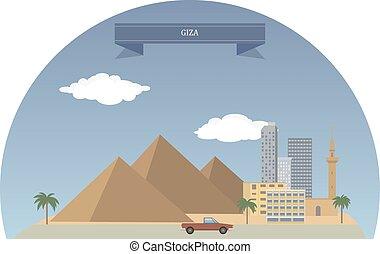 giza , αίγυπτος