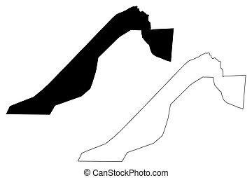 Giza Governorate map - Giza Governorate (Governorates of...