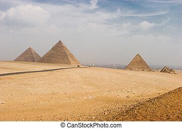 giza piramides