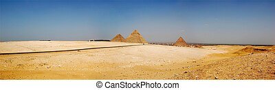 Giza pyramid in cairo egypt