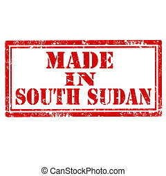 gjord, sudan-stamp, syd