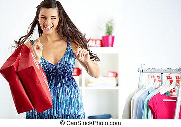 glädje,  shopper