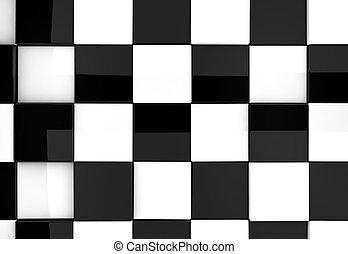 glänzend, schach, hintergrund